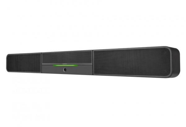 Crestron UC-SB1-AV Soundbar mit Mikrofonarray und Konferenzkamera Logitech C930E
