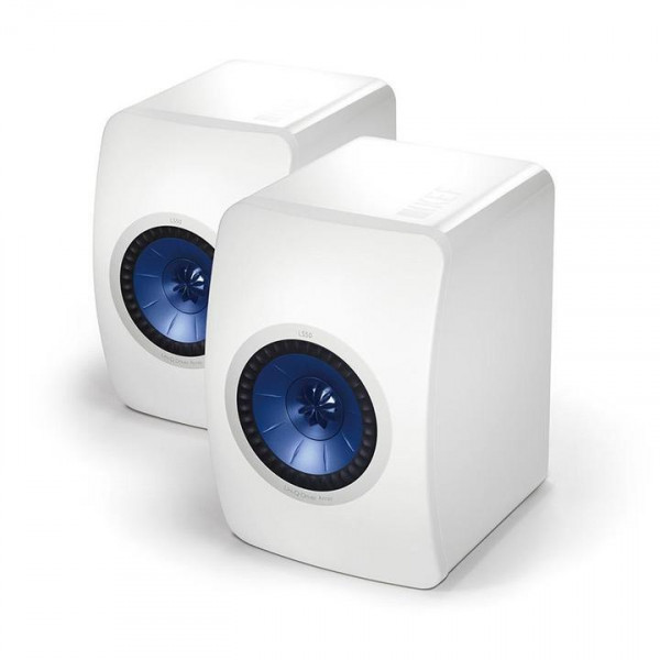 KEF LS50 HIGH GLOSS White je paar