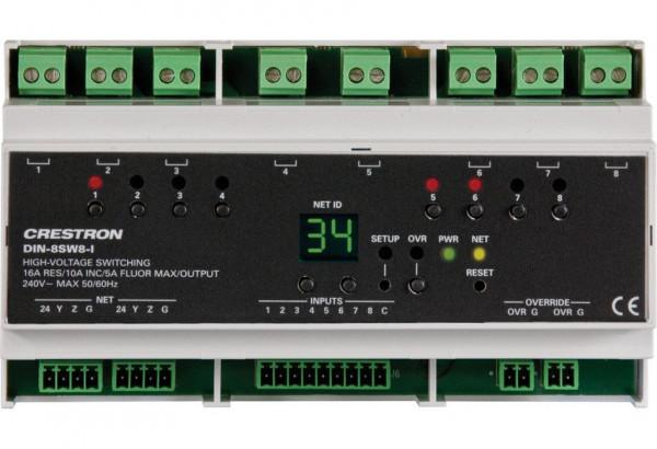 Crestron DIN-8SW8-I